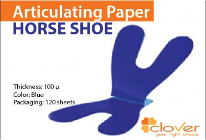 Articulating Paper - Horse Shoe