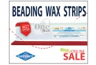 Beading Wax Strip, Red
