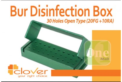 Bur Disinfection Boxes (20 FG + 10RA)