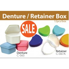 Denture / Retainer Box, 12's