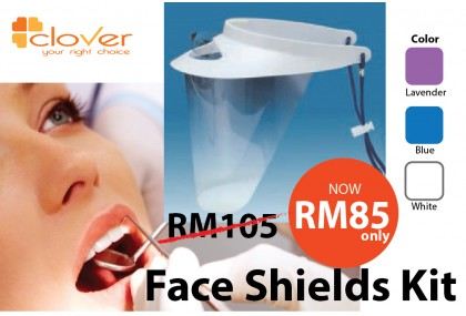 Face Shield Kit with 3 refill shields