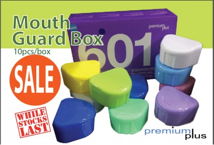 Mouth Guard Box, 10's