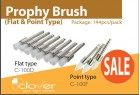 Prophy Brush (Flat & Point Type)