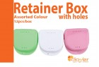 Retainer Box with holes, 12's/bx