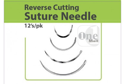 Suture Needle, Reverse Cutting