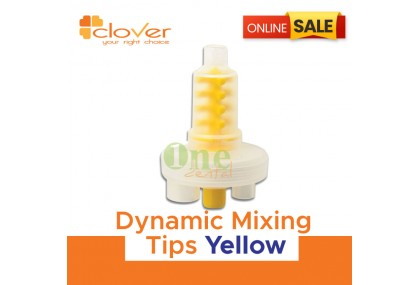 Dynamic Mixing Tips Yellow