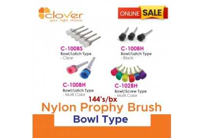 Nylon Prophy Brush - Bowl Type