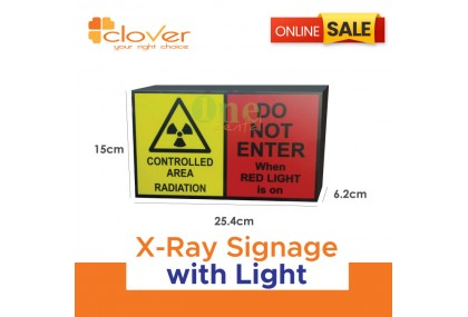 X-Ray Signage with light
