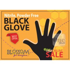 Nitrile Black Glove, Blossom Plus