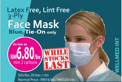 Face Mask Tie-On