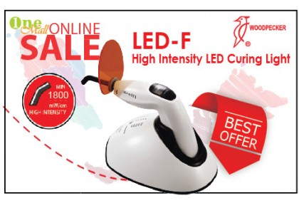 LED-F Cordless Lightcure
