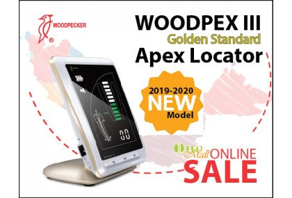 WOODPEX III Golden Standard Apex Locator