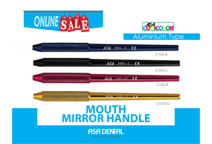 Mouth Mirror Handle (Aluminium Type)