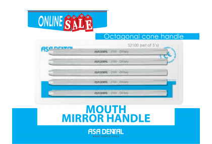 Mouth Mirror Handle Set of 5's