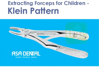 Extraction Forceps Children - Klein Pattern