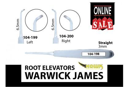 Root Elevators, Warwick James