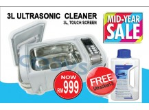 Ultrasonic Cleaner, 3L (Mid Year Sale)