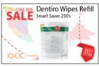 Dentiro Wipe Smart Saver Refill - 250's