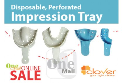Disposable Perforated Impression Tray