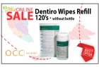 Dentiro Wipes 120's Refill Pack