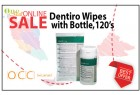 Dentiro Wipe with bottle 120's
