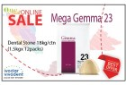 Mega Gemma 23 Dental stone (Yellow)